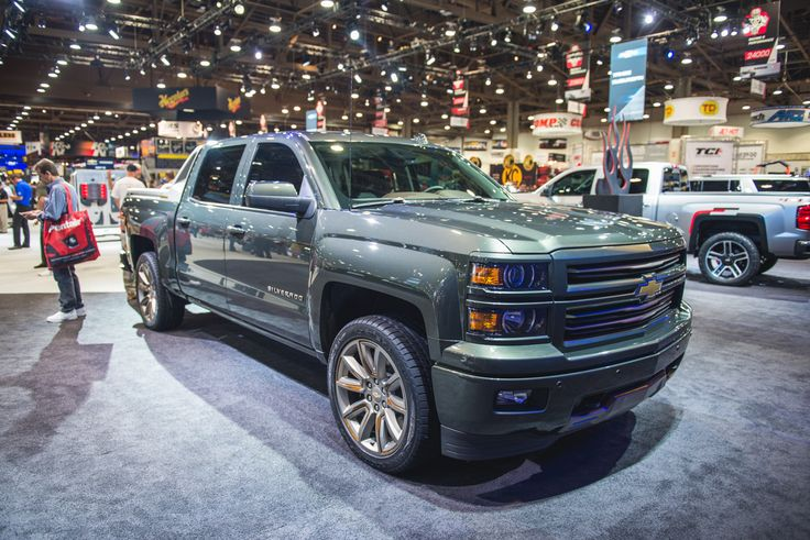 Chevy Silverado High Desert Concept: SEMA 2014 | GM Authority - 2015 Chevrolet Silverado High Desert Concept Sema Live
