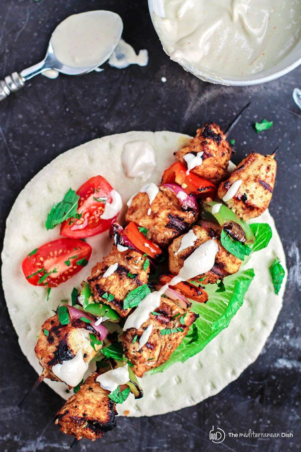 21 best drinks images on pinterest recipes rezepte and biscotti mediterranean grilled chicken kabobs recipe with cayenne tahini sauce marinated in mediterranean spices with fresh garlic and lime juice these kabobs are thecheapjerseys Image collections