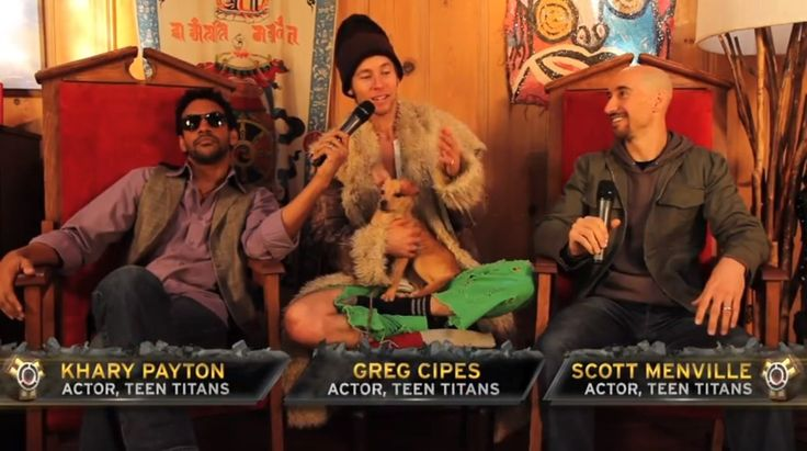 Khary Payton, Greg Cipes, Scott Menville. They're so totally their characters