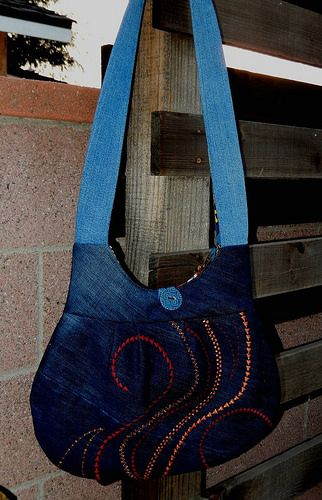 1779838_10201381134719316_67754967_n Recycled jeans tote.