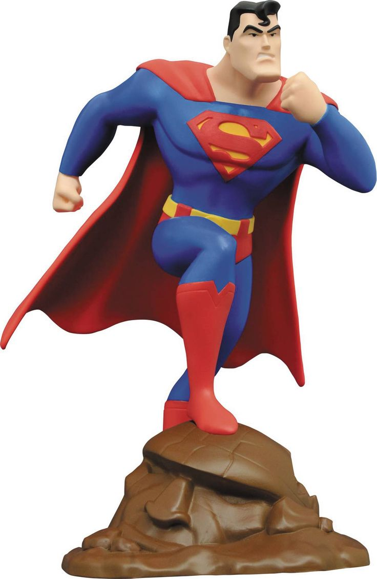 Diamond Select Superman: The Animated Series 9 Inch Statue