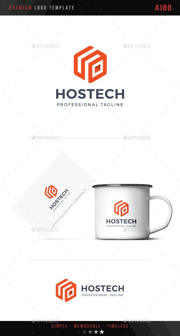Hosting Technology Logo #Hosting, #Technology, #Logo | design idea
