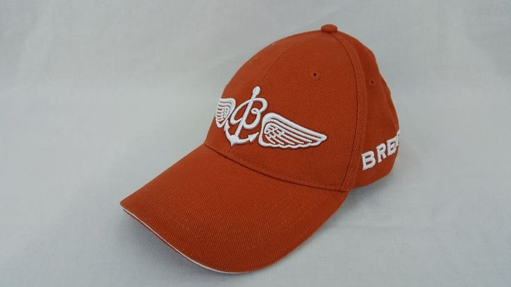Breitling Aviator Pilot Watch Swiss Chronograph Adjustable Baseball Orange Cap  #Breitling #BaseballCap