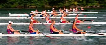 fun times cheering on the crews at the Royal Canadian Henley Regatta, St. Catharines ON