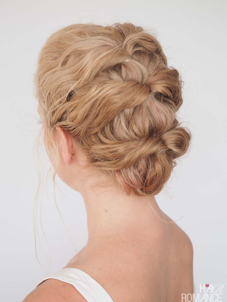 quick easy updo ideas
