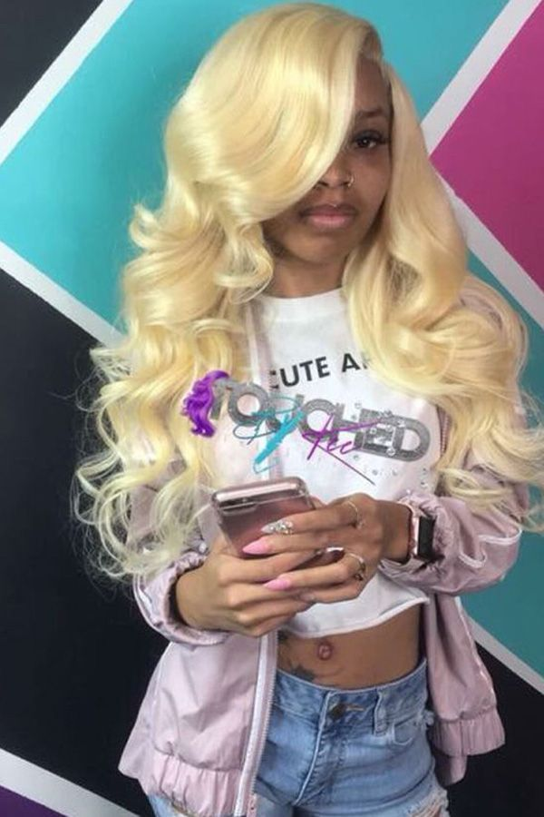 Blonde Hairstyles For Black Women Body Wave Sew In Weaves Only For Black Girls Factory Cheap Price With Store Coupon Dh Hair Styles Hair Waves Weave Hairstyles