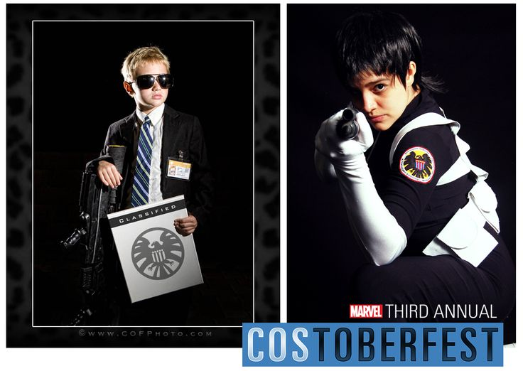 Costoberfest 2013 - Day 10  Introducing Gavin as Agent Coulson and Dandi as a S.H.I.E.L.D. Agent.  Photos by COFP Photo and Willian Dobler.  Marvel's use of all photos are governed by the Marvel.com Terms of Use and Privacy Policy.