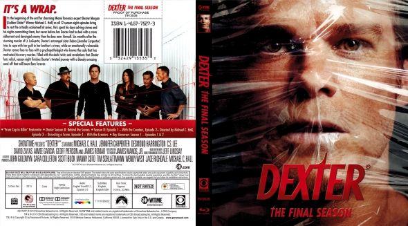 Dexter Season 8 Dvd Cover Dexter Season 8 Dvd Covers Labels By Covercity Dvd Covers Dexter Season 8 Dexter