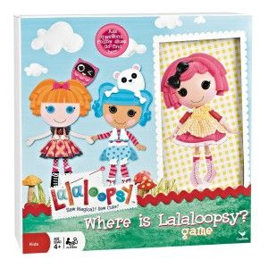 Lalaloopsy birthday party games