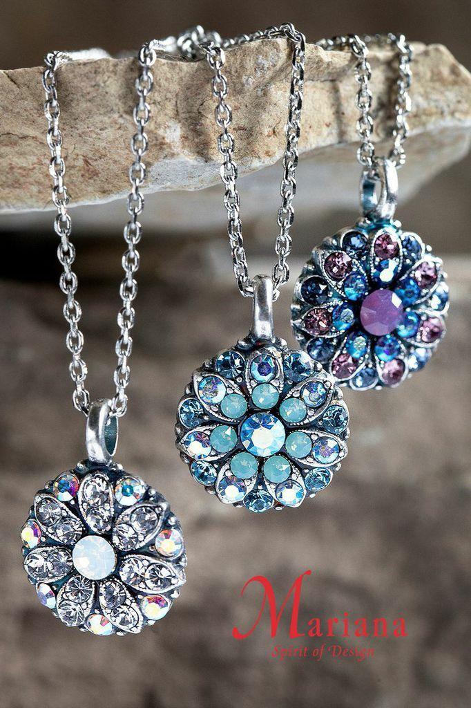 Mariana Guardian Angel Swarovski Necklaces