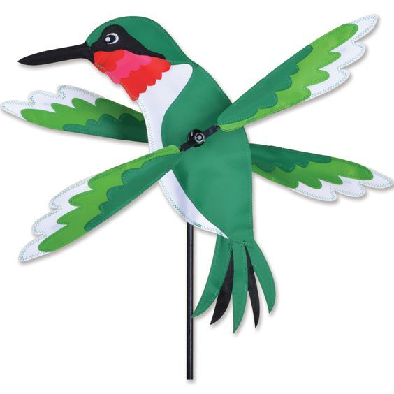 Premier's WhirliGigs capture all the fun of this traditional American wind decoration. Compared to metal or wooden devices, the durable SunTex(TM) fabric wings spin in lower breezes. A host of humorou