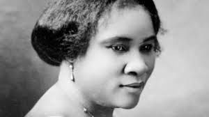 Become a millionaire - Madam C.J. Walker was the first self-made woman millionaire in the United States. She was born Sarah Breedlove on December 23, 1867. After suffering from a scalp ailment that resulted in her own hair loss, she invented a line of African-American hair care products in 1905. She promoted her products by traveling about the country giving lecture-demonstrations and eventually established Madame C.J. Walker Laboratories to manufacture cosmetics and train sales beauticians.