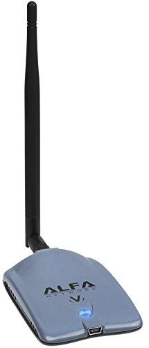 Alfa AWUS036NHV 802.11n High Power 5000mW Wireless-N USB Wi-Fi adapter w/ Removable 5dBi Antenna - Powerful 802.11 B/G/N - 150Mbps - 2.4 GHz - Realtek RTL8188EUS Chipset - Strongest on the Market - NEWEST VERSION Alfa http://www.amazon.com/dp/B00L2P3TRS/ref=cm_sw_r_pi_dp_kEbfwb1DJA2DH