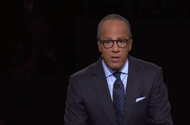 Lester Holt Fact Checked And Delivered For Voters As Debate Moderator