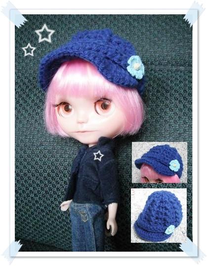 Crochet Hat Pattern For Blythe : 17 Best images about Blythe Doll Crochet Patterns on Pinterest
