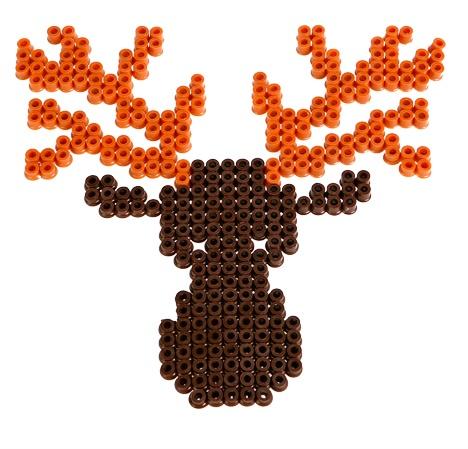#elk #hama #beads