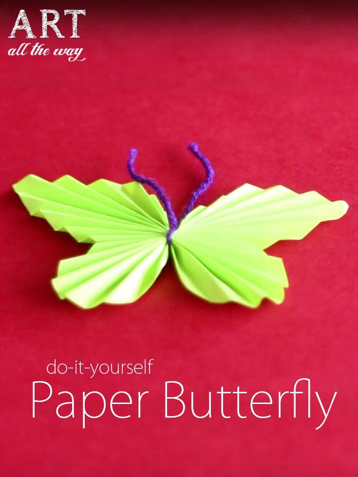 Paper Butterfly : https://goo.gl/jysBLJ