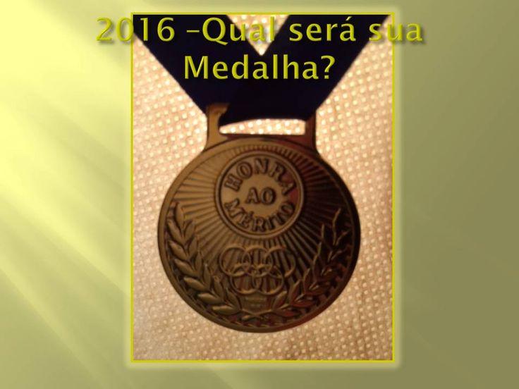 Olá! Clique nolink abaixo para ler o post. Medalhas Olímpicas de Vida