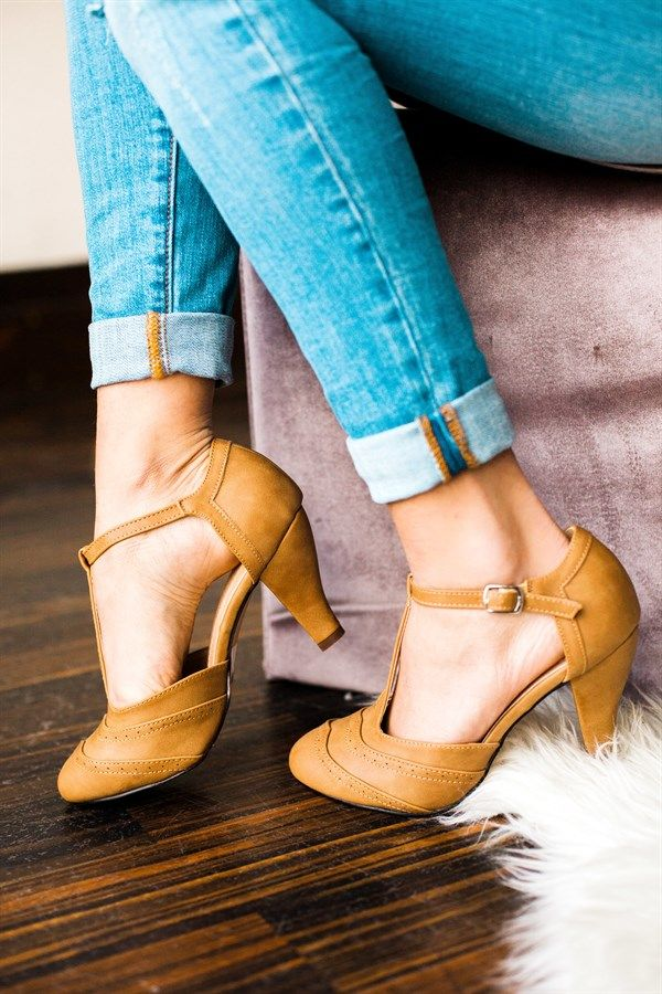 T Strap Heels 3 Colors With Images T Strap Shoes T Strap
