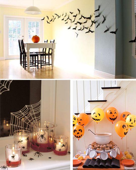 Картинки по запросу хэллоуин украсить дом с детьми