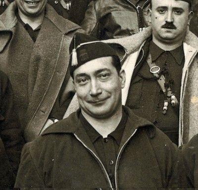 Spain - 1937. - GC - El jefe de la Falange Española de las JONS, Federico Manuel Hedilla Larrey