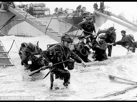 german footage of d day