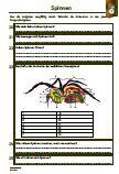 Verschiedene Fragen zu dem Thema: Spinnen      Kreuzspinne     Vogelspinnen     Schwarze Witwe     Arten     Nahrung     Lebensraum     Aussehen     Alter     Paarung     Feinde     Fortpflanzung     Größe     Gewicht     Körperbau     Entwicklung     64 Fragen     1 x Lernzielkontrolle     Ausführliche Lösungen