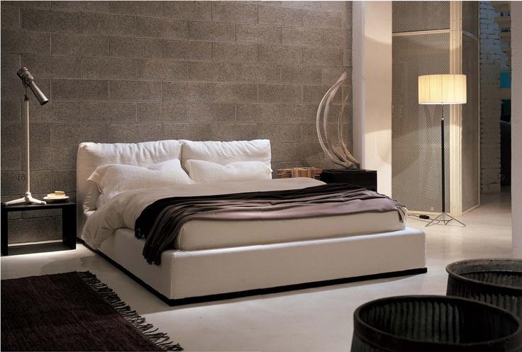 SOFT bed FRAUFLEX design Antonella Frezza