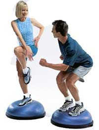Lose Weight or strengthen your core most effectively with BOSU ball exercises. Watch videos of the balance trainer, read the science behind BOSU balls and more.