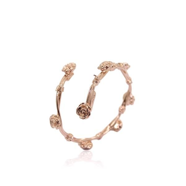 DANIELLE ROSE THORN Bangle - Rose Gold