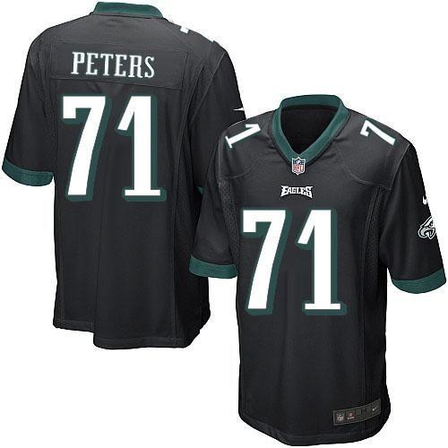Nike NFL Philadelphia Eagles #71 Jason Peters Limited Youth Black Alternate Jersey Sale