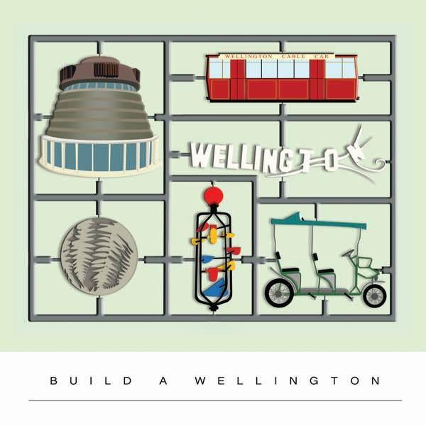 New print by ARATAG - Build a Wellington