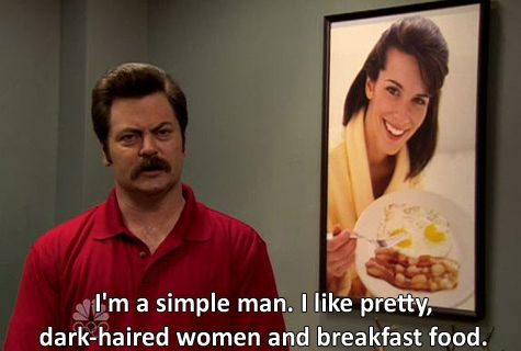 Ron Swanson Perfect Man