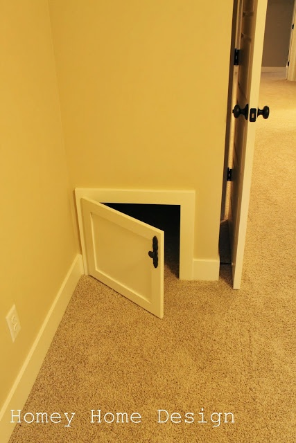 Parade home tunnels from one kids room to the others closet. My kids would love this!