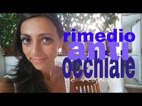 come attenuare le occhiaie | tutorial e regalino - YouTube