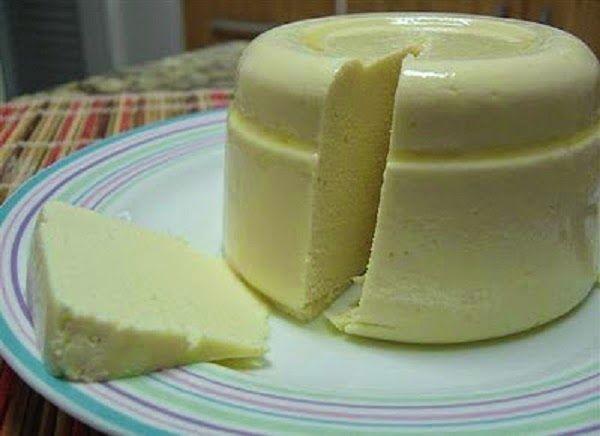 Receita de queijo de amêndoas sem lactose