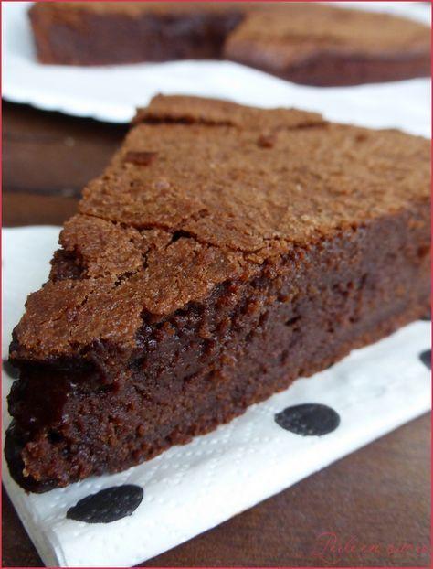 Gâteau fondant au chocolat Suzy de Pierre Hermé