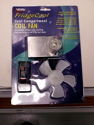 Rv Fridge Vent Fan By Valterra We Recomend These Fans With