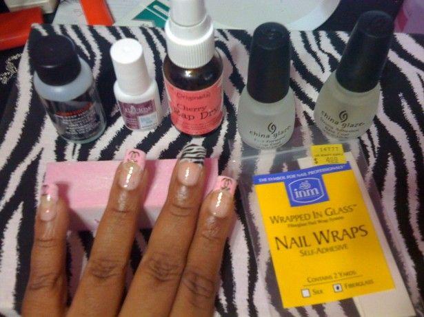 Fiberglass Nail Wraps – the Safest Nail Enhancement: Fiberglass Nail Wrap1 Hipsterwall ~ frauenfrisur.com Nails Inspiration