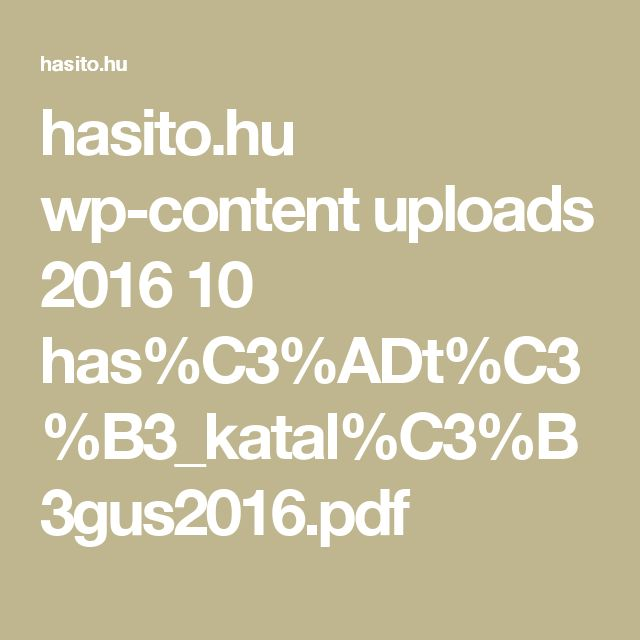 hasito.hu wp-content uploads 2016 10 has%C3%ADt%C3%B3_katal%C3%B3gus2016.pdf