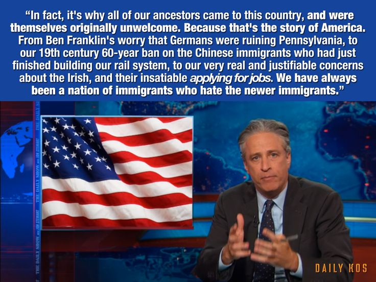 Jon Stewart has a thing or two to say about the idiots who hate a bunch of scared migrant kids... - VIDEO - http://holesinthefoam.us/must-see-jon-stewart-shreds-ignorant-anti-immigration-protesters-video/