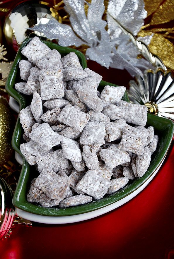 Gluten-Free Puppy Chow is a quick and classic treat. Chocolate, peanut butter, and powdered sugar - it doesn't get much better than that!
