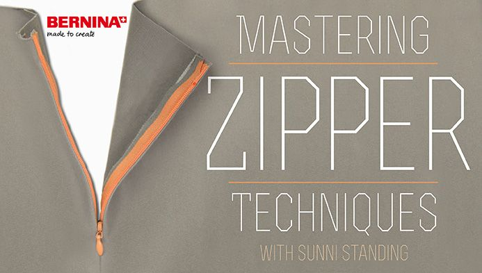 Inserting zippers can be intimidating and frustrating. Learn tips and tricks from sewist Sunni Standing to keep zippers from driving you zany.