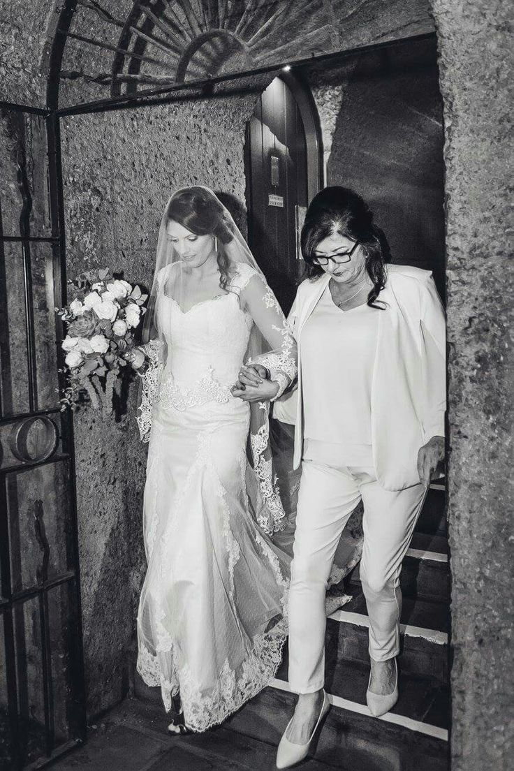 Mom walking me down the Isle #hautecabriere