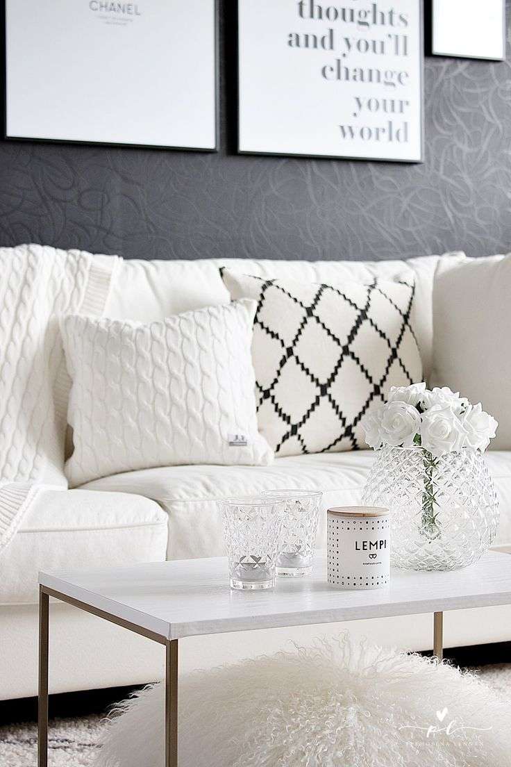 skandinavisk olohuone livingroon decor interior