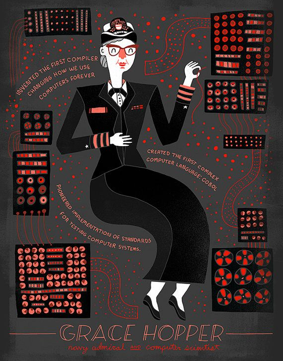 Mujeres en la ciencia: tolva de la tolerancia. Grace Hopper.