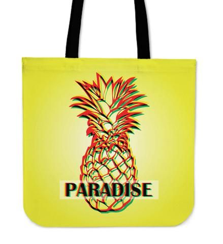 Pinneaple in Paradise - Tote Bag. All of us know how delicious pinneaples are. This fresh  and tropical bag now available in our store. Check it out!