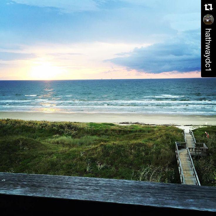 Mustang Island Beach: Mornings Spent Like This Are Golden. Http://ift.tt/1M0jTQ3