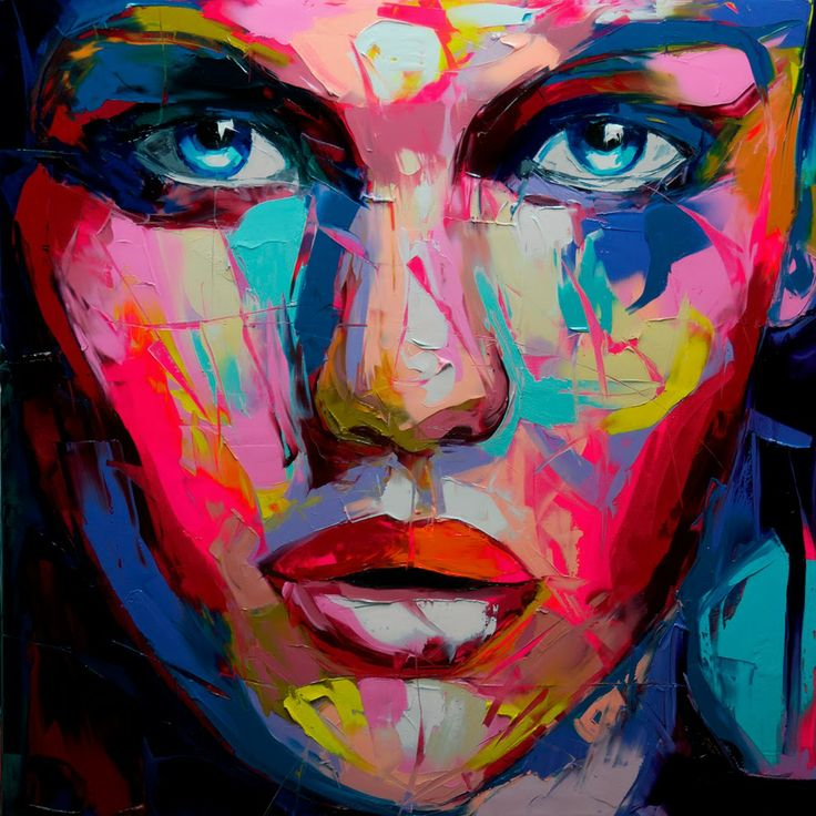 Fran oise nielly art and painting pinterest for Different types of abstract art