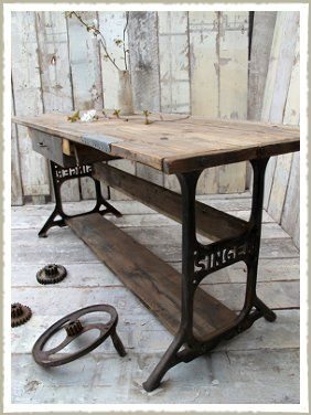 1000 Ideas About Old Wood Table On Pinterest Old Wood White Lamps And Reclaimed Furniture